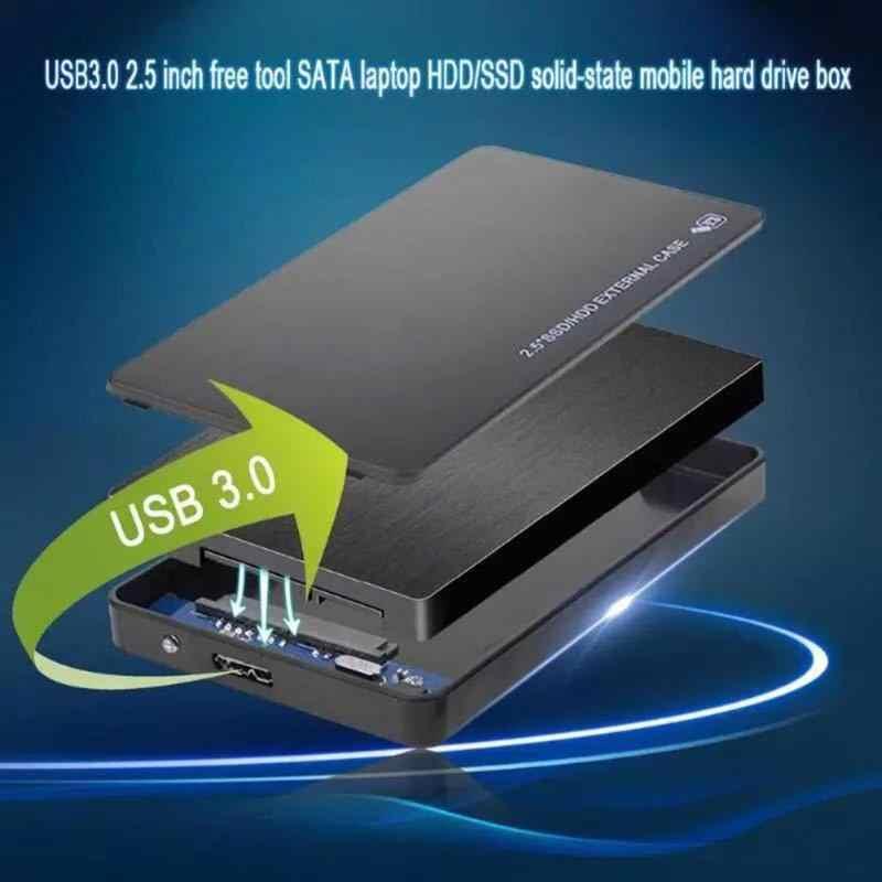 Carcasa VKTECH HDD 2,5 pulgadas SATA a USB 3,0 adaptador Disco Duro carcasa para disco SSD caja HDD USB 2,0 HD carcasa HDD externa
