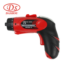 DS 3.6v Electric Screwdriver Household Wireless Power Driver DS3SA-L1 Rechargeable Type Drill/Driver Power Gun Tools LED Light