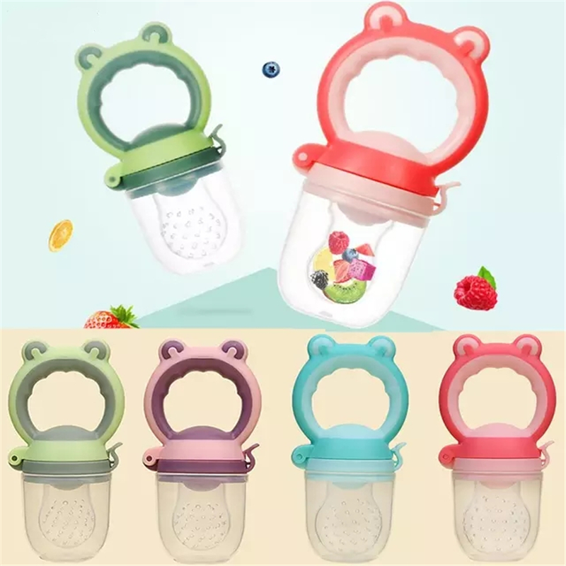Baby Pacifier Nipple Container Care Safety Tools Food Scissors Baby Feeding Maker Fresh Food Fruit Vegetable Mills Dispenser