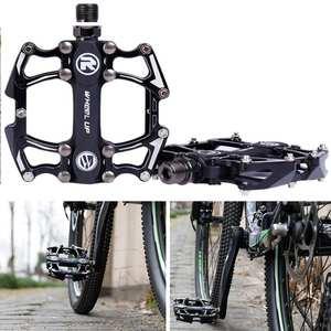 Bicycle Pedals Road-Bike-Bearing Mountain-Bike Ultra-Light Aluminum-Alloy Nylon-Fiber