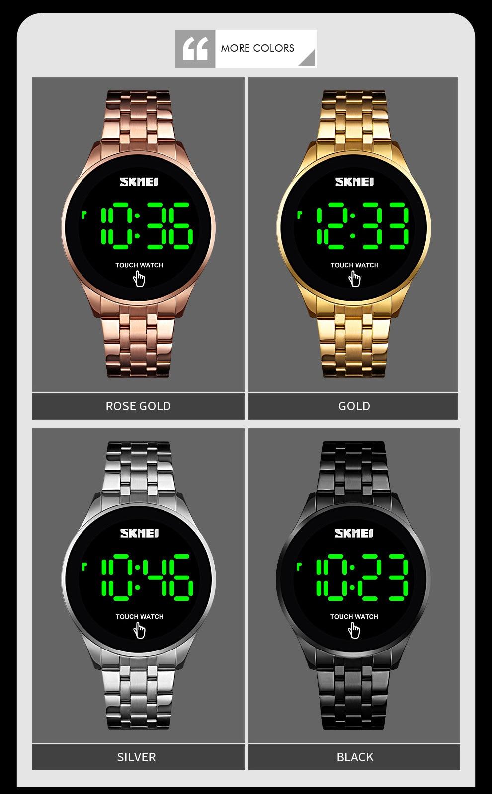 SKMEI 1579 Touch Screen LED Digital Watch 7