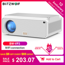 Blitzwolf BW-VP3 LCD Projector 6500 Lumens Android 8.0 16GB