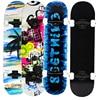 Adult Patins 4 Rodas ABEC - 7 Double Snubby Maple Skateboard Deck Roller Truck Skates Longboard on 4 Wheels Penny Board Patines