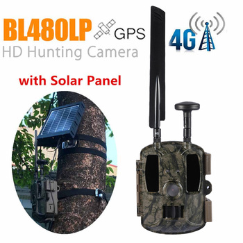 BL480L-P Trail Camera 940nm IR Wildlife Forest Hunting Trap Camera Surveillance Camera GPS Location Wild Tracking Cam для охоты 1