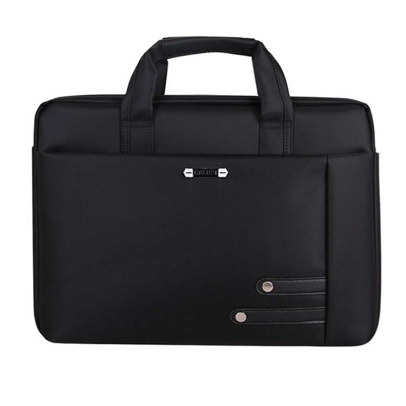 2019 New Fashionable Computer Bag Portable Notebook Business Casual Handbag Breathable Anti-theft Business Case  Mens Briefcase