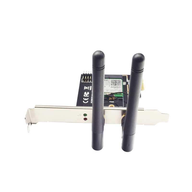 M.2 adaptador Wifi M2 Ngff clave A-E a Mini Pci Express Wifi fondos Pci-E 1X NGFF soporte inalámbrico 2230 2242 Mini Pcie tarjeta de red
