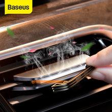 Baseus araba hava spreyi Metal seramik koku oto iç aksesuarları Mini yeniden araba difüzör manyetik araba parfüm
