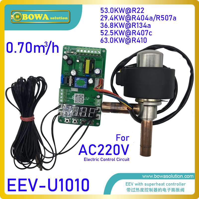 Artificial intelligence electronic expansion valves provides perfect throttling solutions for refrigeration  heat pump and AC       - title=