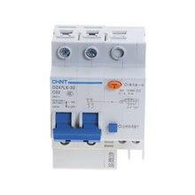 CHNT DZ47LE 2P  10A 16A 20A 25A 32A 40A 50A 60A  Residual current Circuit breaker RCBO
