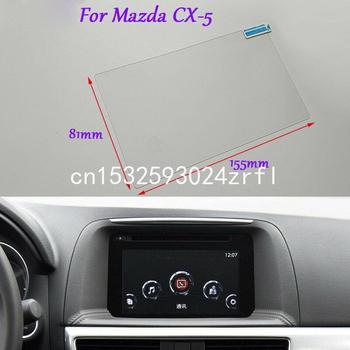 Internal Accessories 7 inch Car GPS Navigation Screen HD Glass Protective Film For Mazda CX-5 image