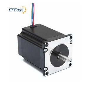 Image 2 - Stepper Motor 2 Phrases NEMA23 2.2 N.m Torque 3.0A Shaft 8mm For Kit Cnc