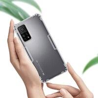 NILLKIN-funda de silicona para Xiaomi MI 10T 5G/ MI 10T Pro 5G, carcasa transparente suave de TPU para Xiaomi MI 10T Lite 5G
