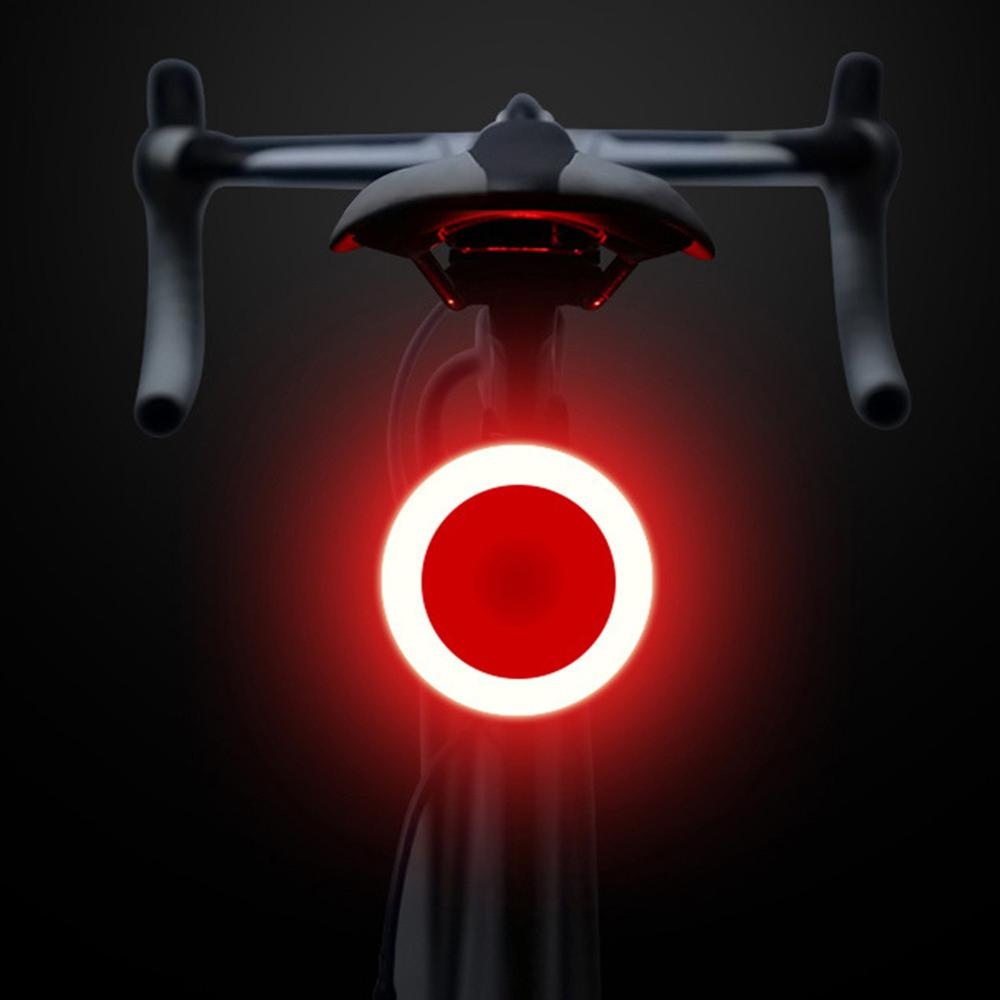 Creative Light For Bicycle Light 5 Lighting Modes Bicycle USB Charge Led Bike Light Flash Strobe Rear For Mountain Bike Seatpost