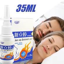 35ml przeciw chrapaniu Spray do nosa naturalne zioło medyczne Spray noc pomoc w leczeniu zaburzeń snu rozwiązanie przystanek chrapanie ulga Spray nos produkt do pielęgnacji