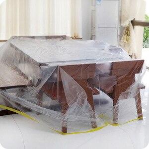 Image 2 - 多機能プラスチック透明ダストカバーのベッドソファ家具屋外防水カバー