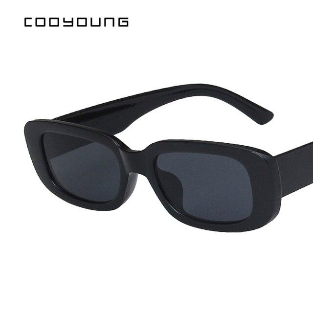 Rectangle Sunglasses- Women Vintage Shades UV400 3