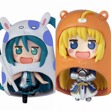 Anime Himouto Umaru Chan Umaru Doma PVC Action Figure Collectible Model doll toy 10cm (2pcs/set) 8style archetype he archetype she ferrite shfiguarts body kun body chan ver pvc action figure collectible model toy with box