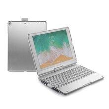witsp@d  Rotation 360 4.0 bluetooh wireless plastic keyboard hard case Cove for New iPad/iPad pro 9/7 /Air 2/ Air 1 keyboard case for ipad 9 7 2017 2018 air 2 pro 9 7 cover for ipad mini 4 5 7 9 shell for ipad air 3 2019 pro 10 5 case keyboard
