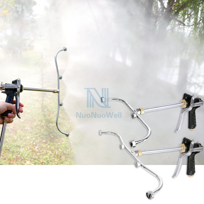 Ein Satz Hochdruck Sektor Düse Fan-förmigen Spritzpistole Garten Bewässerung Nebel Sprinkler Kopf Landwirtschaft sprayer