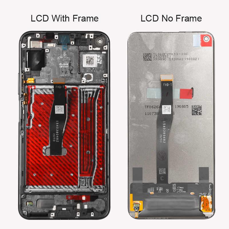 Keajor عرض لهواوي الشرف 20 YAL-L21 شاشة الكريستال السائل محول الأرقام بشاشة تعمل بلمس لوحة مع الإطار ل الشرف 20 LCD Honor 20 عرض