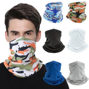 Unisex Washable Rave Bandana Neck Gaiter Tube Headwear For Women Men Face Scarf Dustproof Motorcycle Facemask Windproof Scarf image