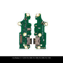 For Nokia 7.1 7 2018 TA-1085 TA-1095 TA-1096 TA-1100 USB Charging Port Dock Plug Socket Jack Connector Charge Board Flex Cable