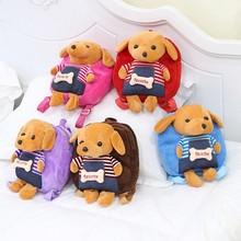 New Mini School Cute Bag Baby Backpack Childrens Infant Boys Girls Casual Travel Kindergarten Plush Dog