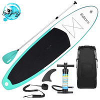 Inflatable 305X76X15 CM Stand Up Paddle Surfboard Surfing Board Water Sport Sup Board with Paddle Pump Foot Safety Rope
