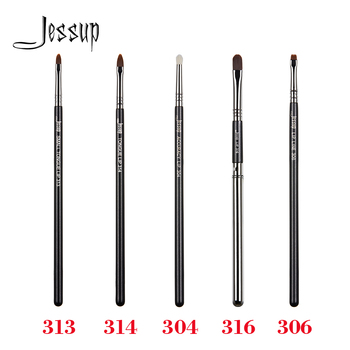 Jessup Precise Single Makeup Professional Brush Accuracy Lip Line Fiber Hair Wood handle Pearlescent Matte Beauty Cosmetic Tool