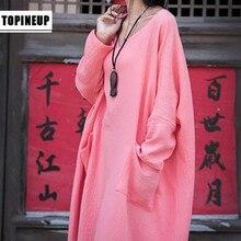 Top quality Casual fashionable cotton Linen maxi dress fashi