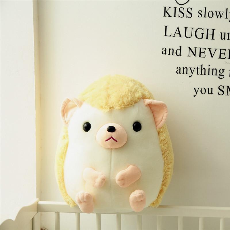 Cute Cartoon Plush Hedgehog Doll Soft Cotton Plush Kawaii Hedgehog Plush Toy Baby Night Birthday Gift For Kids
