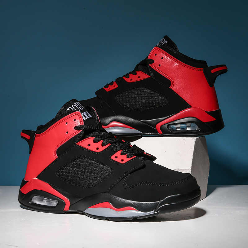 Basketbal Schoenen Voor Mannen Hoge Kwaliteit Jordan Basketbal Sneakers Mannen Air Demping Enkellaarsjes Retro Jordan Schoenen Mand Homme