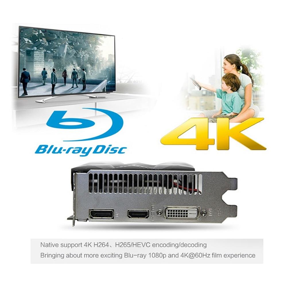yeston RX560D-4G D5 Video Card Discrete Gaming Graphics Card 1176MHz/6000MHz 4G/128bit/GDDR5/DP+DVI-D+HDMI Desktop Video Cards 4