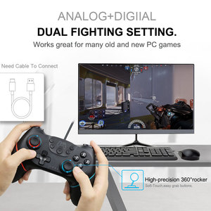 Image 4 - Bluetooth Wireless Game Controller Joystick For Nintendo Switch NS Pro Console Gamepad Joypad Android/ PC Accessories Controle