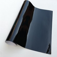 Ultra Glossy Black Vinyl Wrap Car Film Car Wrapping Film Foil Bubble Free For Car Sticker Bike Phone Console Skin