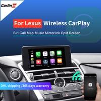 Carlinkit Wireless CarPlay for Lexus NX ES US iS CT RX GS LS LX LC RC 2014 2019 Multimedia interface CarPlay & Android Auto