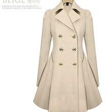 Hot style coat trench coat slim