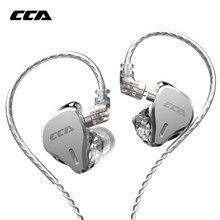 Cca CS16 8BA Drive Units Headset Met Afneembare Detach In Ear Oortelefoon Hifi Oortelefoon 8 Balanced Armature Voor Asx Asf c16 CA16