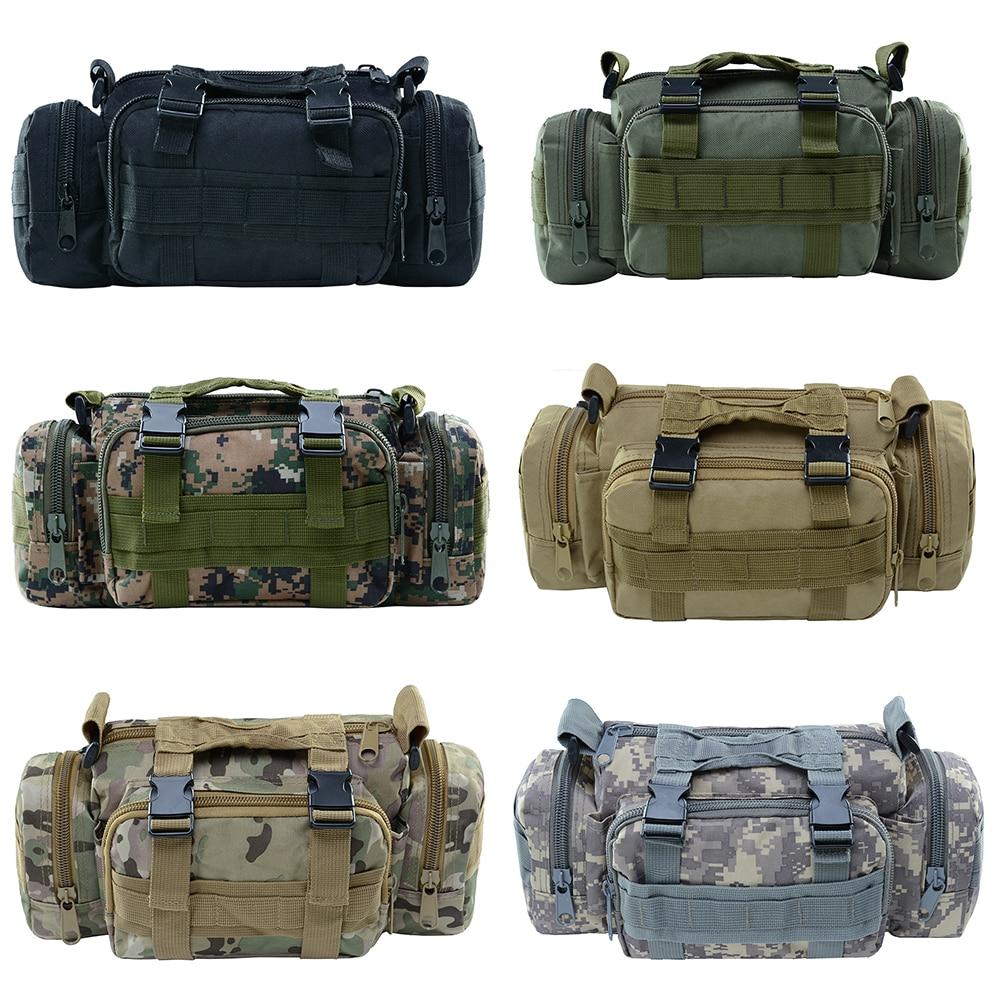 Тактическая Военная поясная сумка, водонепроницаемый Камуфляжный походный рюкзак, спортивный рюкзак для активного отдыха, треккинговые хо...