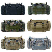 Tactical Military Waist Bag Waterproof Camouflage Hiking Rucksack Outdoor Sports Backpack Trekking Canvas Bags For Climbing canvas multi layer hiking trekking bag tactical military men sports and climbing waist bag new outdoor bum hip bag