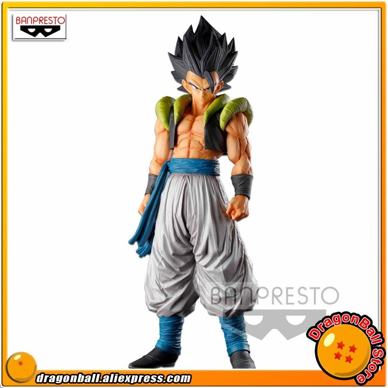 "Japan Anime ""Dragon Ball SUPER"" Original Banpresto Super Master Stars Piece SMSP Collection Figure - Gogeta"