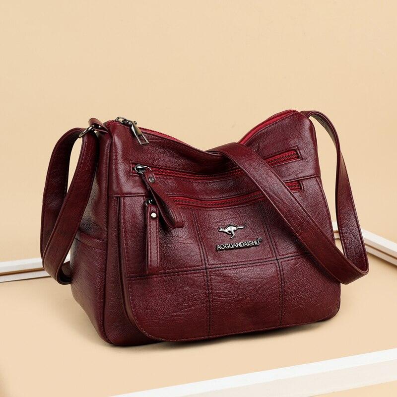 Новинка, модные сумки из мягкой искусственной кожи, сумки на плечо для женщин 2021, роскошные сумки, женская сумка, дизайнерские сумки через пл...