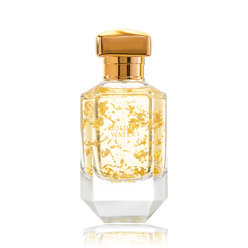 LONKOOM Original Golden Water perfume For Woman 50ml Eau De Parfume Floral fruity Notes