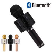 Ручной bluetooth микрофон ws858 профессиональный конденсаторный