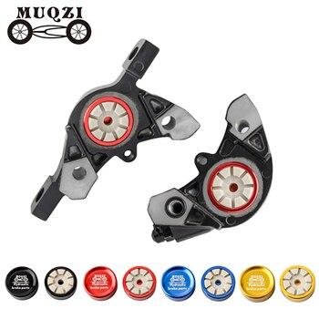 MUQZI 1 Pair MTB Road Bicycle Hydraulic Brake Caliper Piston Bike Disc Brake  Replace Parts For Shimano XT/M785/M8000/SLXM675
