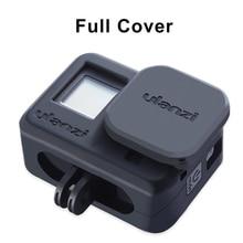 Ulanzi G8 3 フルカバーシリコン保護ケース移動プロ 8 ヒーロー黒タイプ C 充電ポート移動プロ 8 アクセサリー