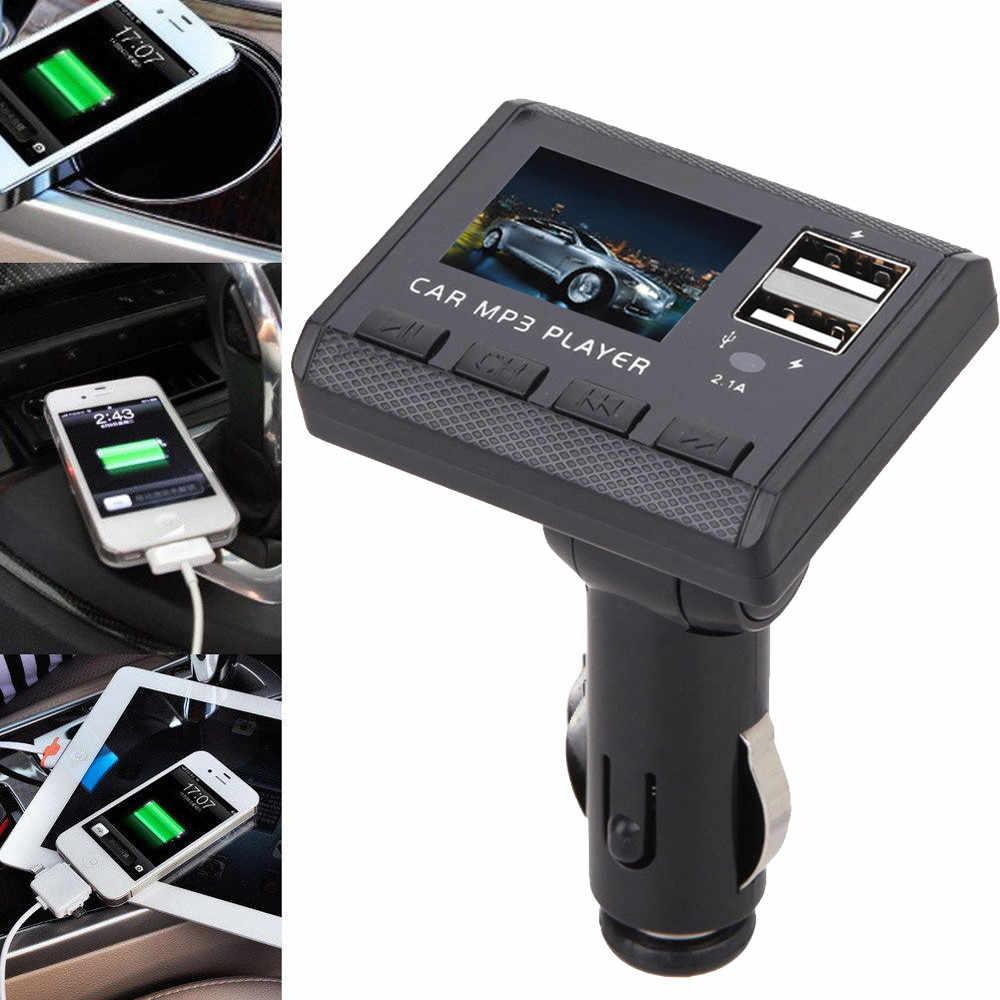 車のスタイリングホット販売の Bluetooth 車の Usb 充電器 FM トランスミッタ無線アダプタ MP3 プレーヤー 2.1A #1 RJ