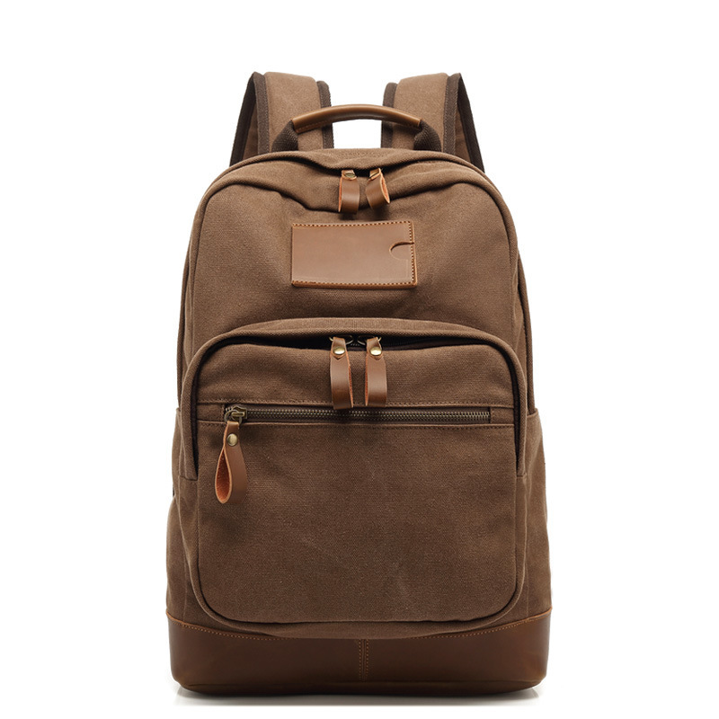 2019 School Backpack Freedom New Style Backpack Men's Shoulder Solid Color Large Capacity Leisure Travel Bag Korean Fashion