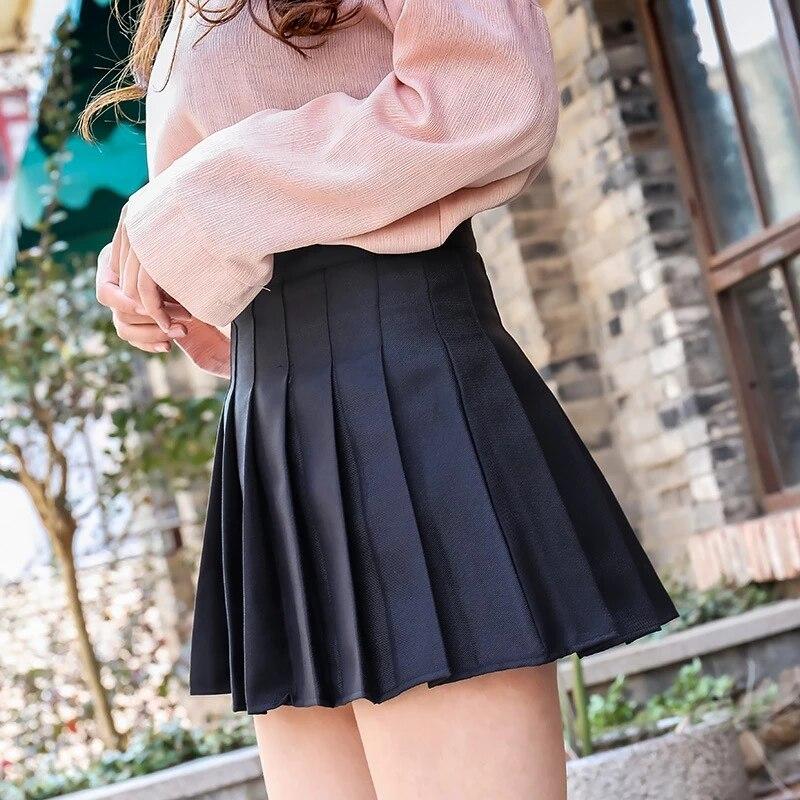 Плиссированная юбка 2021 Летняя Сексуальная юбка с завышенной талией для девочек Милая Одежда для девочек школьная мини юбка Модные женские клетчатые юбки размера плюс XS 2XL J168|Юбки|   | АлиЭкспресс