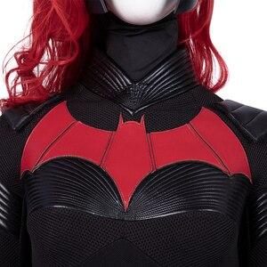 Image 4 - Batwoman Batgirl Cosplay kostüm cadılar bayramı süper kahraman Batgirl tulum Kate Kane kostüm Batwoman seksi Bodysuit Colak Custom Made